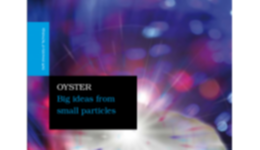 OYSTER Big ideas from small particles